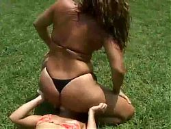 Bazilian Bikini Smothering