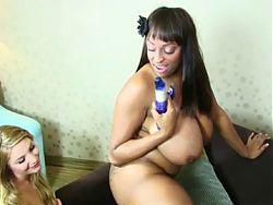 Lesbians like big tits 2