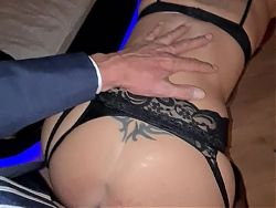 Man in suits ...... it makes her horny as hell