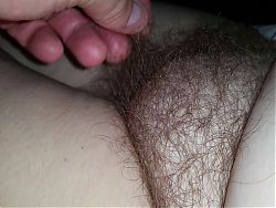 nice shiny soft chubby hairy pussy out of the shower