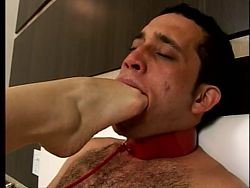 Brazilian femdom with footfetish