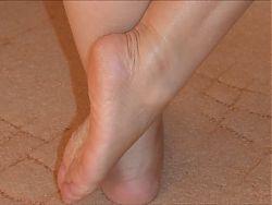Belle gambe di donna matura