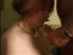 Granma gets drilled by Granpa in the Livingroom