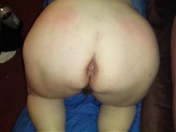 My Wifes Plump and Juicy Ass