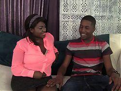 Black man and black woman