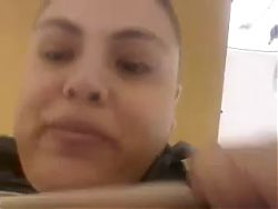 Sexy latina showing boobs