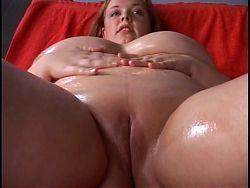 Redhead plumper with big tits