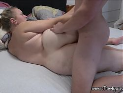 Homemade video, hot fucking with thick ass BBW