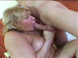 Mature Blonde BBW